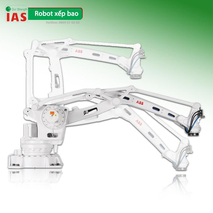 Robot xếp bao tự động