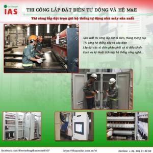 Thi công lắp đặp điện tự động và hệ M&E