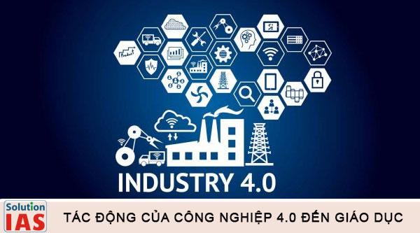 Tác động của công nghiệp 4.0 đối với giáo dục